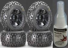 """Pro-Line 1178-11 3.8"""" Mounted Badlands Tires Desperado Wheels (4) w/ Medium CA"""
