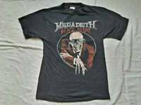 HOT RARE Megadeth vtg Black Friday 1986 T-Shirt reprint gildan new.@