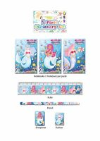Mermaids 5 Piece Stationery Writing Set Birthday Party Bag Filler Girls Gift New