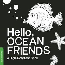Hello, Ocean Friends: A High-Contrast Book by Duopress Labs, NEW Book, FREE & FA