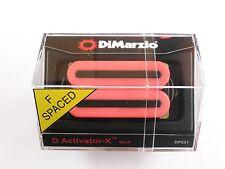 DiMarzio F-spaced D Activator X Neck Humbucker Pink DP 221