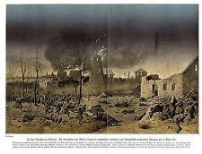 EINNAHME VON GORLICE 5.5.15  Schlachtfelder 1914-18 Battlegrounds in World War 1