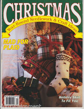 Christmas Year Round Needlework & Craft Ideas Sept/Oct 1991 Made for Plaid Issue