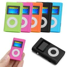 MP3 Player Mini LCD Display Musik Micro SD bis 32GB + Zubehörpaket blau