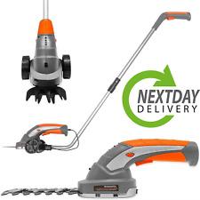 More details for 7.2v electric cordless grass shears cutter hedge trimmer strimmer garden edger