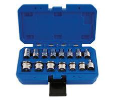 Laser Tools 3/8in unidad 15 pieza clave Sumidero Magnético & Socket Set