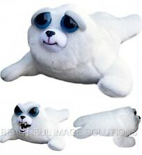 FEISTY PETS Stuffed Seal Turns Feisty GROWLS with Squeeze BEST SELLING TOY