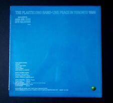 John Lennon Plastic Ono Band  Live Peace in Toronto 1969 1st PRESS w/STICKER NEW