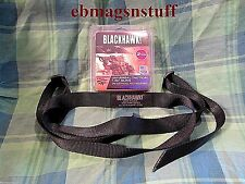 HUNTING WEAPON RIFLE SLING + QUIET + 1.25 Inch + BLACK NYLON + New in Package