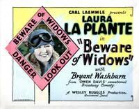 OLD MOVIE PHOTO Beware Of Widows Poster Laura La Plante 1927