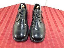 Bostonian Strada Black Leather Dress Oxford Shoes Men Size 10.5