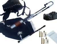Uilleann Pipes Half Set Blackwood Bagpipes By Hakam Din & Sons