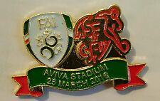 Ireland v Switzerland match badge 25 March 2016 Easter Rising Centenary Game FA