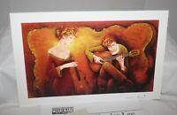 "Charles Lee Guitar Serenade, Park West 12 3/4"" 2005 Signed Seriolithograph & COA"
