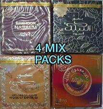 4 Mix Nabeel Perfume Touch Me, Nasaem, Black, Maamul, 40 Gram Bakhoor Incense