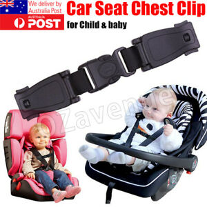Baby Car Safety Seat Strap Clip Harness Chest Belt Child Buggy Buckle Lock AU