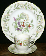 Tiffany & Co Collection By Sigma 4 Trios Demitasse Cups Saucers and Salad Plates