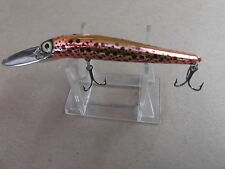 Custom Painted Pre Rapala Storm Deep Thunderstick Jr,DJ,Orange Crush,UV Color