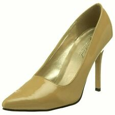 "ESCARPINS "" HIGHEST HEEL "" SEXY CHIC BEIGE Nude Pat P. 40 PRIX BOUTIQUE 45 €"