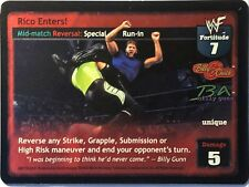 WWE Raw Deal CCG Summer Slam 6.0 Rico Enters! FOIL Billy & Chuck Ultra Rare