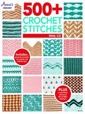 Annie`S-500+ Crochet Stitches BOOK NEW