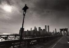 New York, the Brooklyn-Bridge, the Word Trade Center 1980 ref 01
