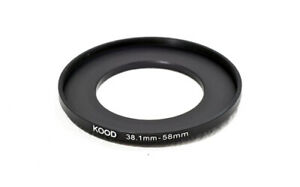 Stepping Ring 38.1-58mm 38.1mm to 58mm Step Up ring stepping ring 38.1-58mm