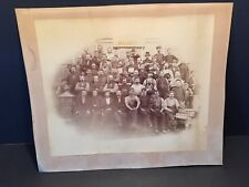 Vintage Early 1900's Factory Workers Picture Photo Antique Stoves Americana Rare