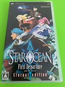 Star Ocean First Departure Eternal Edition Sony PSP Game Japanese Rare