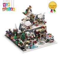 Winter Village Cottage Winter Wonderland MOC-56563 Building Blocks Toys Sets