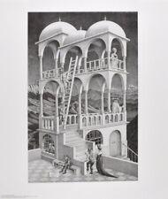 MC Escher Belvedere Poster Kunstdruck Bild 65x55cm