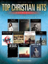 Top Christian Hits 2016-2017 Sheet Music 20 Hit Singles Piano Vocal 000225283