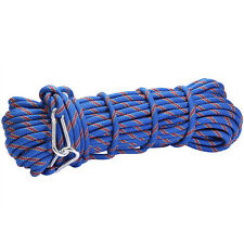 3KN 9mm Outdoor Mountain Rock Tree Climbing Escape Rescue Nylon Auxiliary Rope