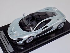 1/18 Tecnomodel McLaren P1 in Ice Silver with Silver wheels #01 of 10 Carbon B