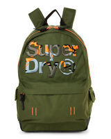 NWT SUPERDRY AUTHENTIC SCHOOL SPORT MENS GREEN MOTION MONTANA POLYESTER BACKPACK