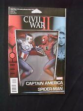 Civil War 2: Amazing Spder-man #1 - Action Figure Variant Cover VF+ / NM