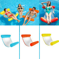 NEW Relaxation lounger Inflatable floating lounger Beach Pool Hammock FT