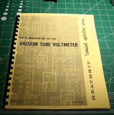 """Heathkit EF-1""""How to Understand and use your Vacuum Tube Voltmeter"""" VTVM-Reprint"""