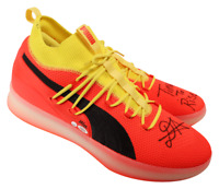 """DEANDRE AYTON Signed Suns """"Time To Rise"""" Puma Clyde Court Shoes STEINER LE 22"""