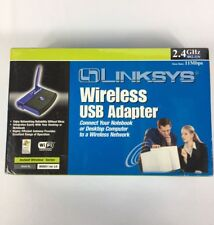 Linksys Wireless B USB Network Adapter Model No WUSB11 Networking Connectivity