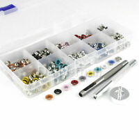 300pcs 6mm Colored Eyelets With Washers Grommets + tool kit clothing shoes decor