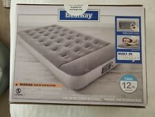 Air Bed Mattress Inflatable With Built In Ac Pump Twin Size New