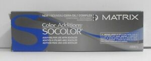 MATRIX Socolor ADDITIONS With Cera Oil ~ Additives For Use With Socolor ~ 2 oz!!