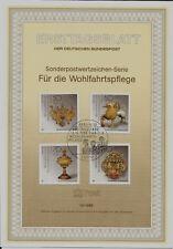 818-821 Postfrisch 1988 Wohlfahrt Berlin kompl.ausgabe west