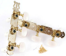 Gotoh Japan Gold Lyre 3x3 Horizontal Tuners for Classical Guitar 35G420