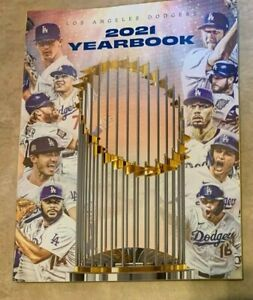 2021 Los Angeles Dodgers Yearbook NEW shipped in a box World Series Champions