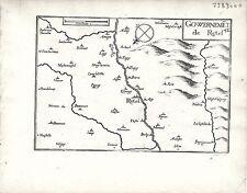 Antiguos mapas, Gouvernement De Retel