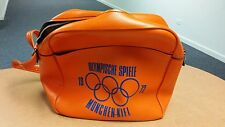 1972 Munich Olympics vinyl carrying Bag