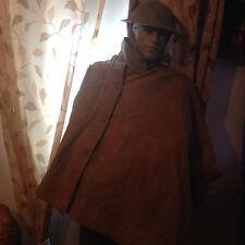 WW2  British Army Rain Cape Ground Sheet Poncho Original.