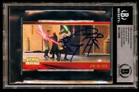 Ray Park #74 signed autograph auto 1999 Star Wars Episode 1 Widevision Card BAS